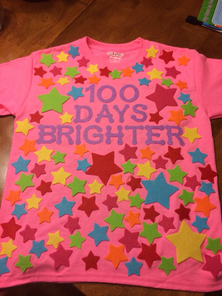 100 Days of school shirt!!! Sam is ready