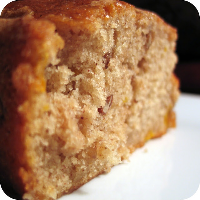 Pecan Peach Amish Friendship Bread - Yields 15 Slices or so  (Click on the Starter Recipe on the Site)  by Dozen Flours