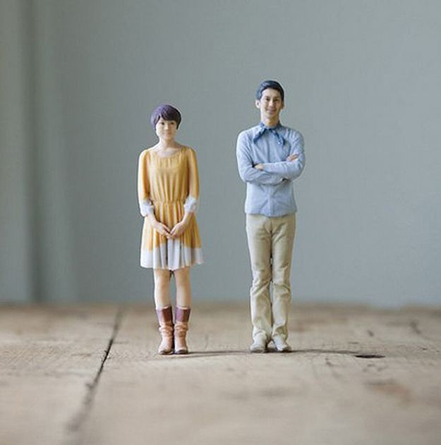 3D Print a Figurine of yourself! wedding cake toppers for all! or really REALLY funny mangers! or creepy narcissistic gifts/christmas ornaments, or the best family portraits EVER!