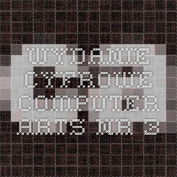 Wydanie Cyfrowe Computer Arts nr 3