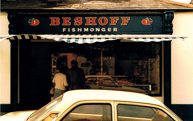 Beshoff's Fish Shop Malahide Signwriting by Kevin Freeney.
