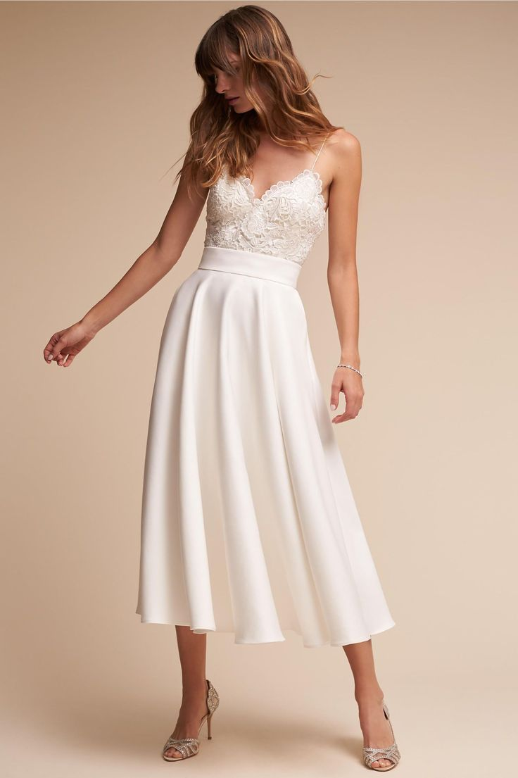 *Havana corset top    Havana Corset Top & Jordan Skirt in Bride | BHLDN