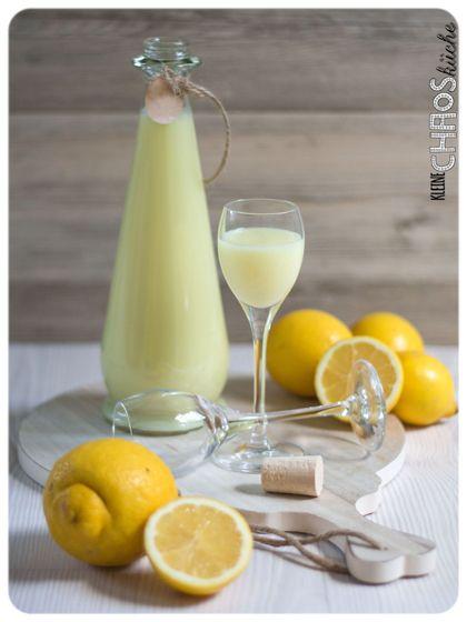 Limoncello Crema di Limoncello - selber machen