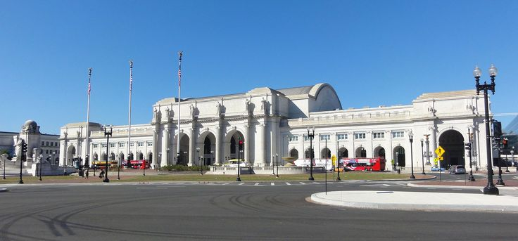 Union Station Washington DC - United States Daniel H Burnham 1908 #Beaux Arts