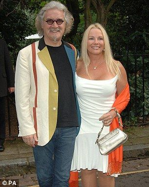 Billy Connolly and Pamela Stephenson arrive for David Frost's summer party in central Lond...
