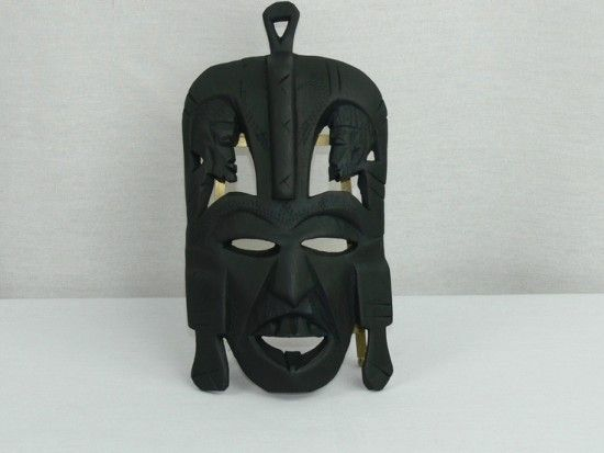 Checkout this amazing product Hand Carved Wooden African Tribal Mask at Shopintoit