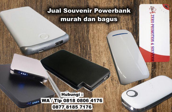 Jual Souvenir Powerbank murah dan bagus