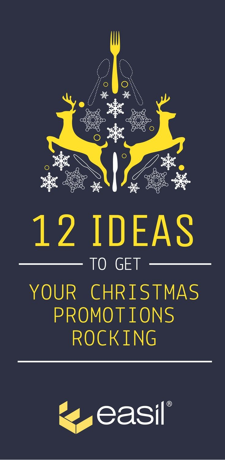 Get your Christmas Promotions Rocking with these 12 ideas