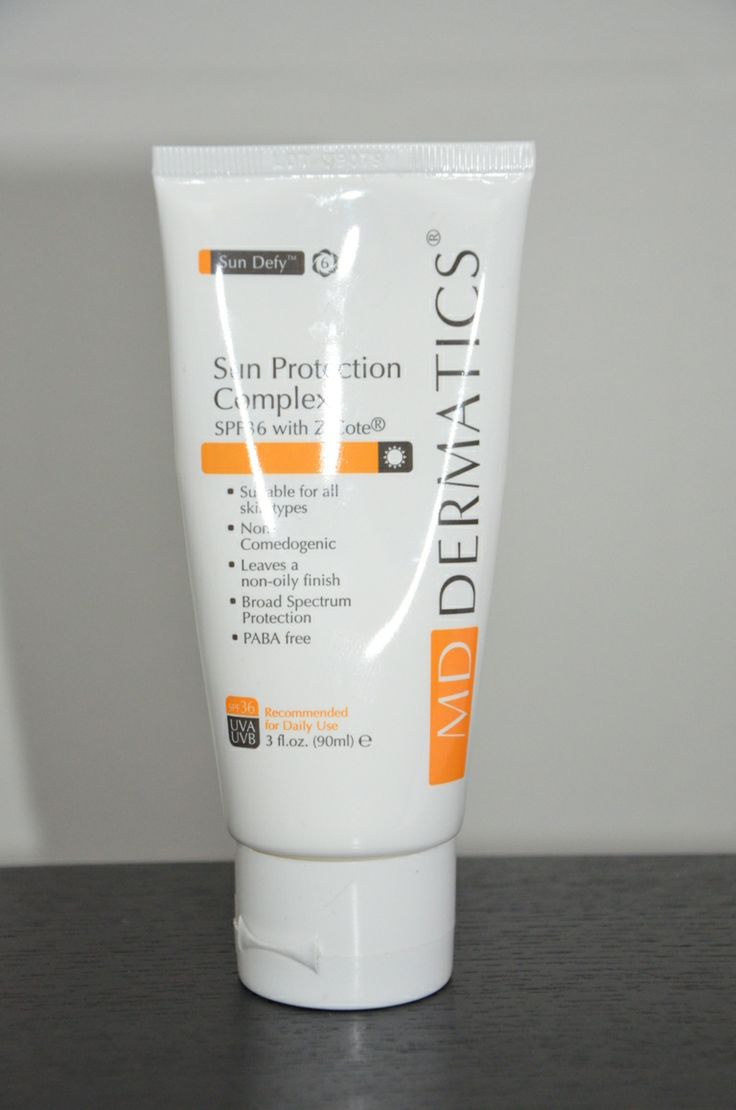 Sun Protection Complex SPF36 Broadspectrum UVA/UVB Sunblock Sun Protection Complex with a sun protection factor of 36, contains Z-Cote® formulation which provides high broad-spectrum sun protection against harmful UVA and UVB rays, the main causes of sun burn and premature aging. Sun Protection Complex provides full-spectrum UVA and UVB defense.  Benefits •All round broad spectrum protection.  •Metal oxide physical sun protection does not get absorbed into skin