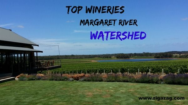From the blog post: Top Margaret River Wineries - Watershed - on www.ZigaZag.com