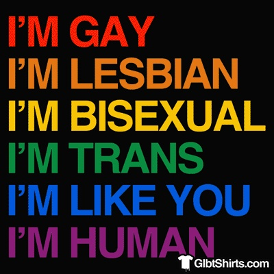 LBGTQ Human Equality (sans the Queer part, for some reason. Not enough colors?)