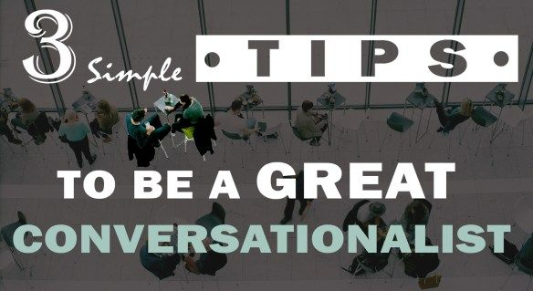 3 Simple Tips To Be a Great Conversationalist :http://www.draftinghub.com/3-simple-tips-to-be-a-great-conversationalist/