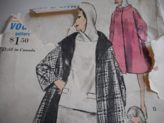 Vintage 1960's Vogue 6047 Dress and Coat Sewing by TheLastPixie