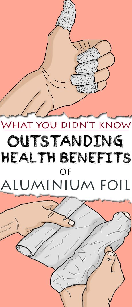 While most of the time the aluminum foil is used as a kitchen helper, be it for cooking but also for storing our food overnight, you will be surprised