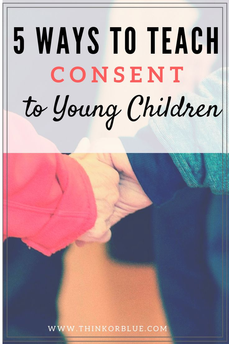 With the many discussion about rape culture and sexual assault, parents and teachers must teach consent to children starting at a very young age.