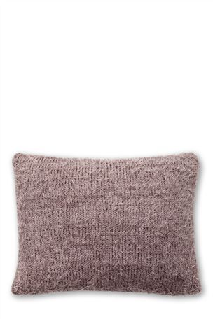 Buy Mauve Faux Ostrich Knit Cushion from the Next UK online shop