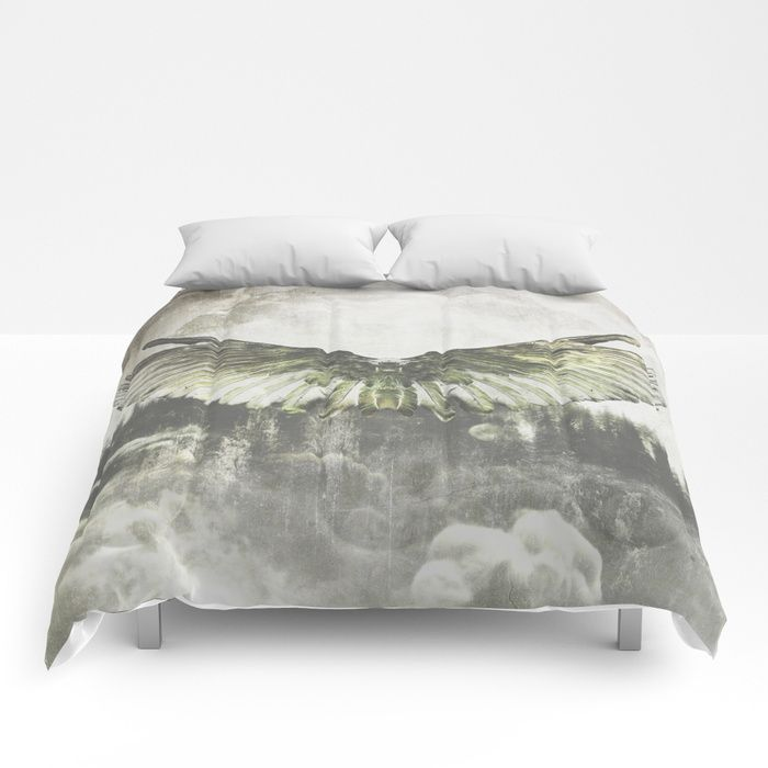 Wilderness in my heart Comforters by HappyMelvin | Society6