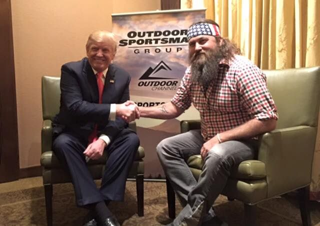Willie Robertson Publicly Endorses Presidential Candidate   Country Rebel Clothing Co.