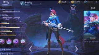 Kelebihan dan Kekurangan Hero Lesley Mobile Legends