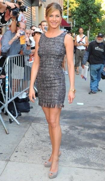 Jennifer Anistons New York styles
