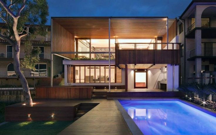 Das rote Dach: Haus im klassischen Stil mit rotem Dach und mexikanischen Akzenten