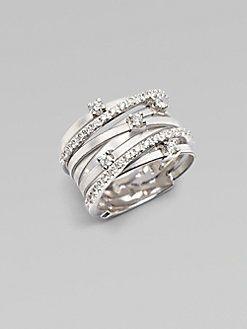 Marco Bicego - 18K White Gold & Diamond Ring