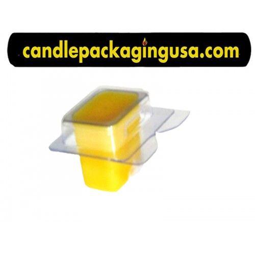 Single Cavity Wax Melt Clamshell