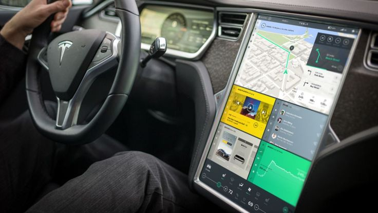 This beautiful Tesla user interface concept is a huge improvement