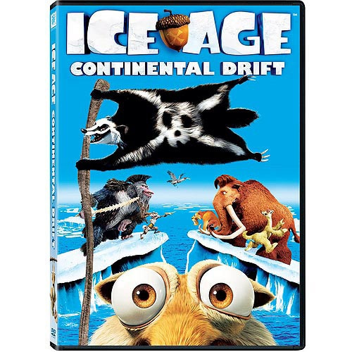 'Ice Age: Continental Drift' - The revisionist version of natural history offered up in the Ice Age movies gets yet another twist in the fourth installment, 10 years after Manny the woolly mammoth, Diego the saber-toothed tiger, Sid the sloth, and Scrat the squirrel made their chilly debut to hot box-office receipts.