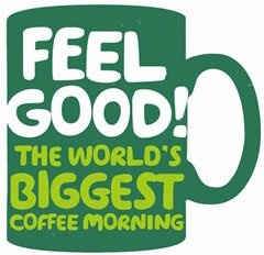 Macmillan Cancer Support's feel good message for World's Biggest Coffee Morning