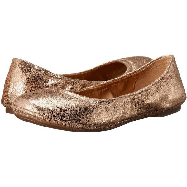 Lucky Brand Emmie (Blush) Women's Flat Shoes ($59) ❤ liked on Polyvore featuring shoes, flats, lined ballet flats, ballet flat shoes, ballerina shoes, skimmer flats and lucky brand shoes