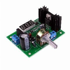 [ $28 OFF ] Ac/dc-Dc Lm317 Adjustable Voltage Regulator Step Down Power Supply Module With Led Meter 10Pcs/lot