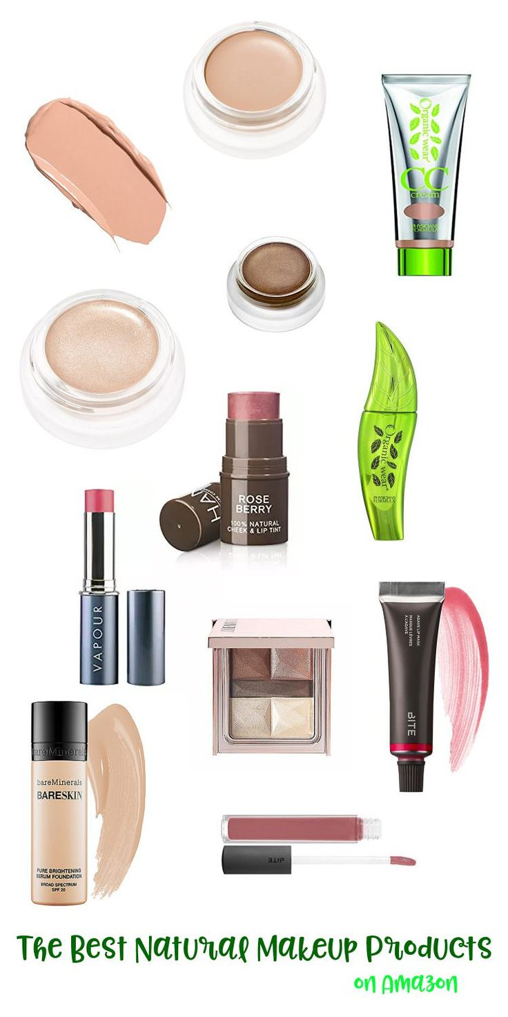 Looking to clean up your makeup bag? These are the BEST natural makeup products on Amazon (and anywhere)!