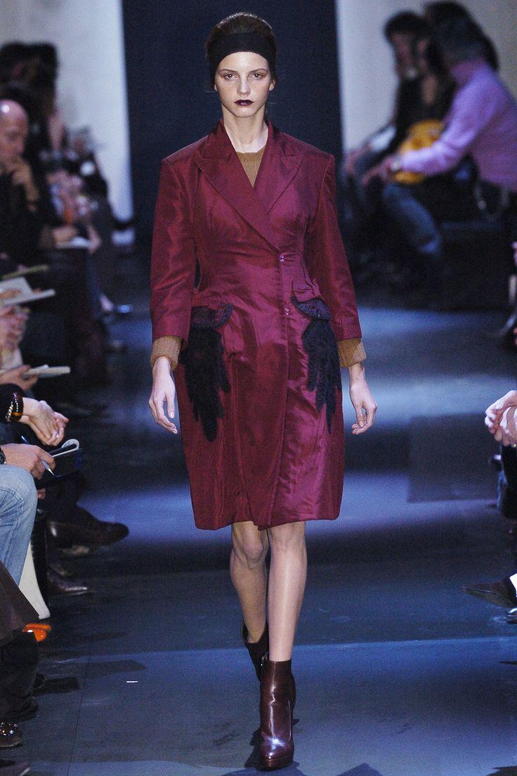 Jeisa Chiminazzo at Prada F/W 2005