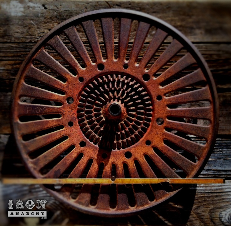 Cast Iron Wheels And Gears : Images about antique industrial gear on pinterest