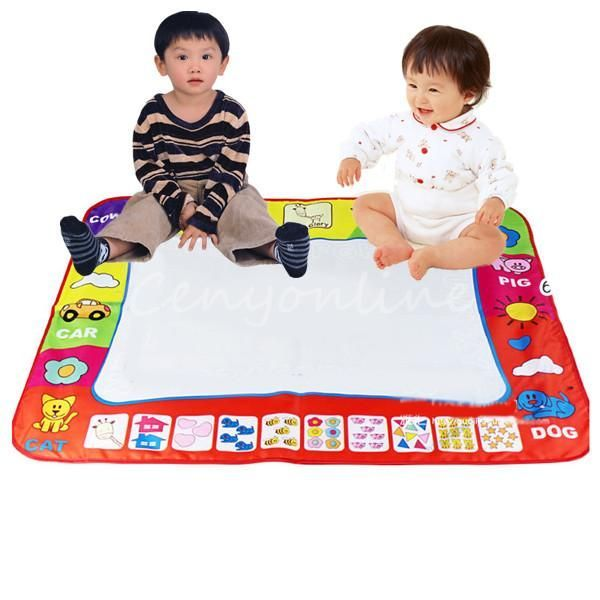 Wholesale Toys Water Drawing Painting Writing Mat with Doodle Magic Pens 80X60cm for Children Kid Developmental Intelligence Toy - http://toysfromchina.net/?product=wholesale-toys-water-drawing-painting-writing-mat-with-doodle-magic-pens-80x60cm-for-children-kid-developmental-intelligence-toy