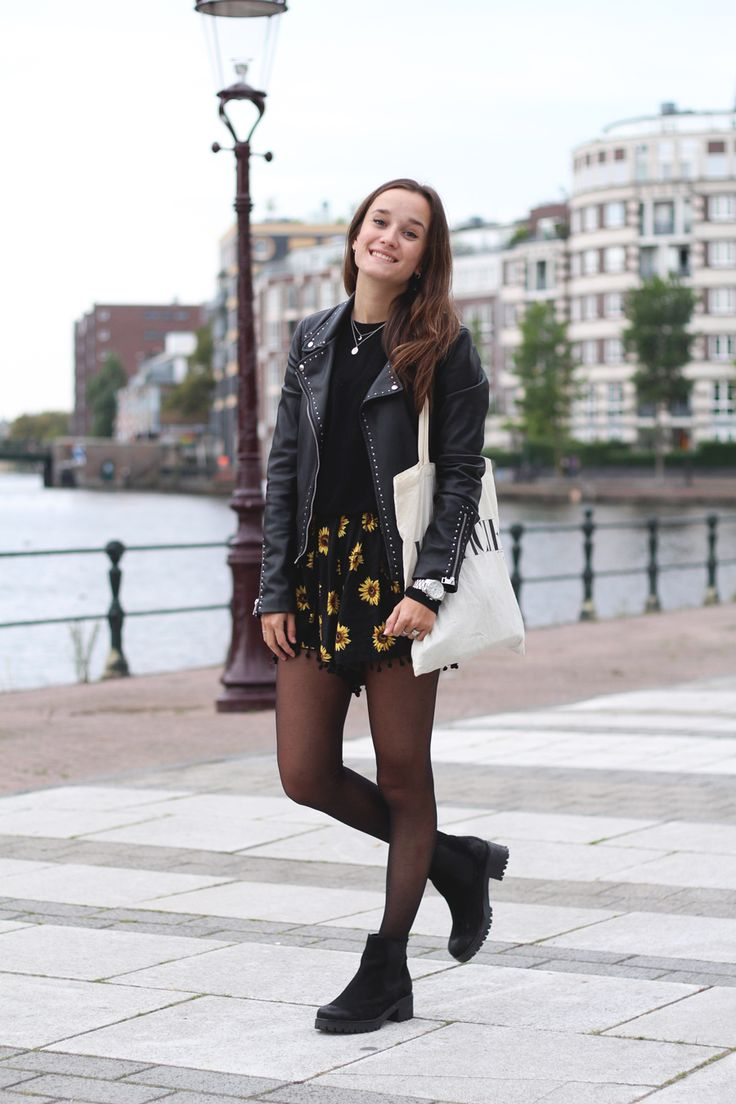 Fashiable, outfit, fashion blogger, Amsterdam, eBay floral jumpsuit