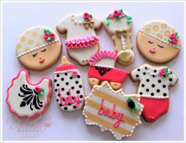 Baby Girl Shower Cookies | Dulcia Bakery