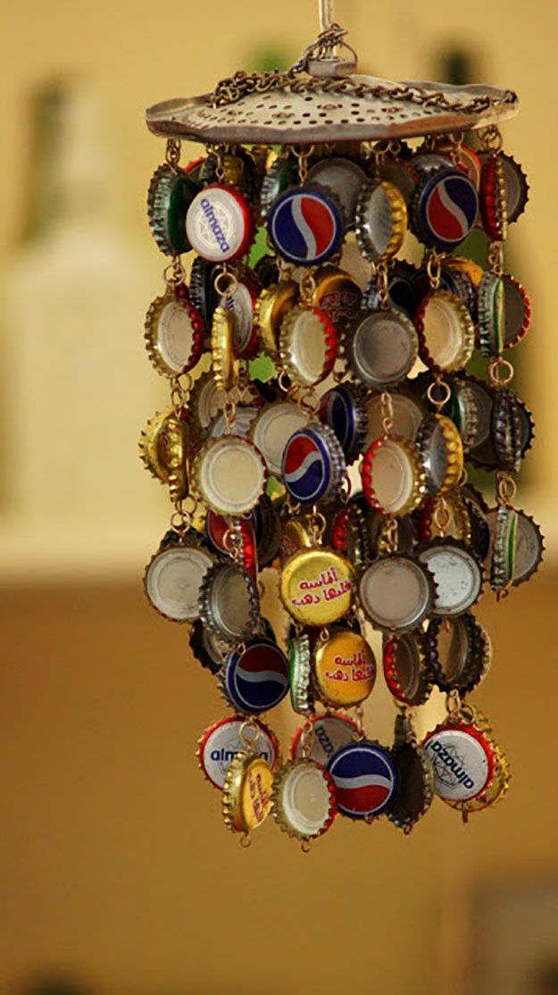 Bottle caps | Repurpose Ideas by Pioneer Settler at http://pioneersettler.com/more-things-never-throw-away/