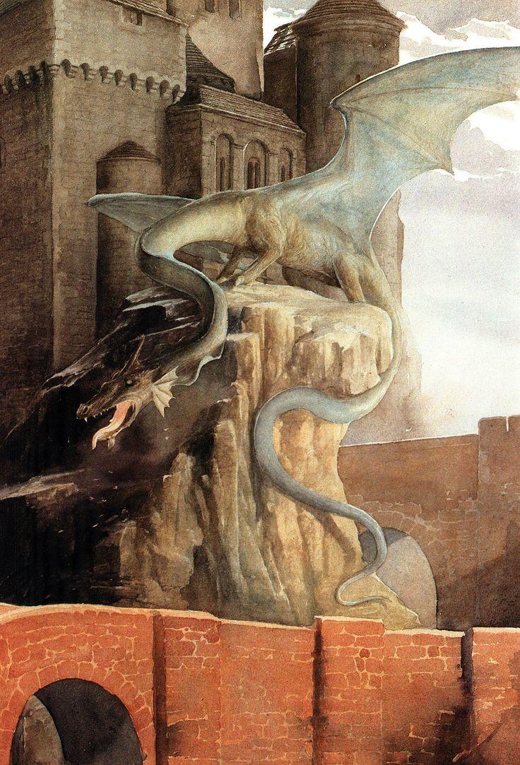 Alan Lee The Age of Fantasy (off 'Castles')