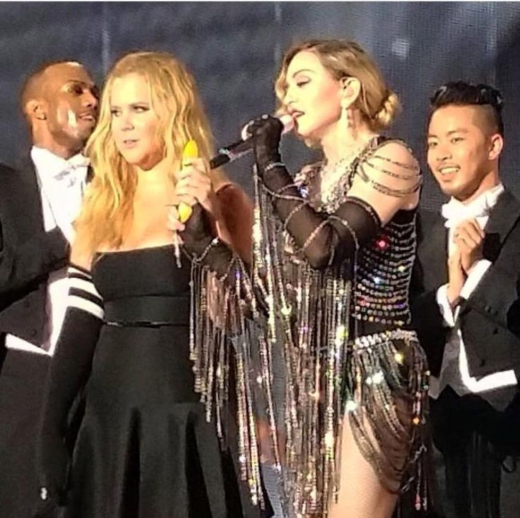 Madonna Gets Surprisingly Nostalgic at First NYC Tour Stop, Then Kicks Amy Schumer's Ass http://www.billboard.com/articles/review/6699797/madonna-rebel-heart-nyc-tour-amy-schumer-madison-square-garden