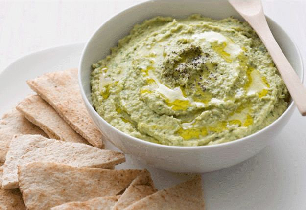 Spinach Hommus - Real Recipes from Mums