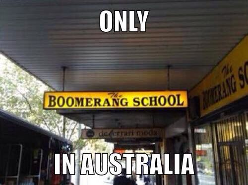 Only in Australia