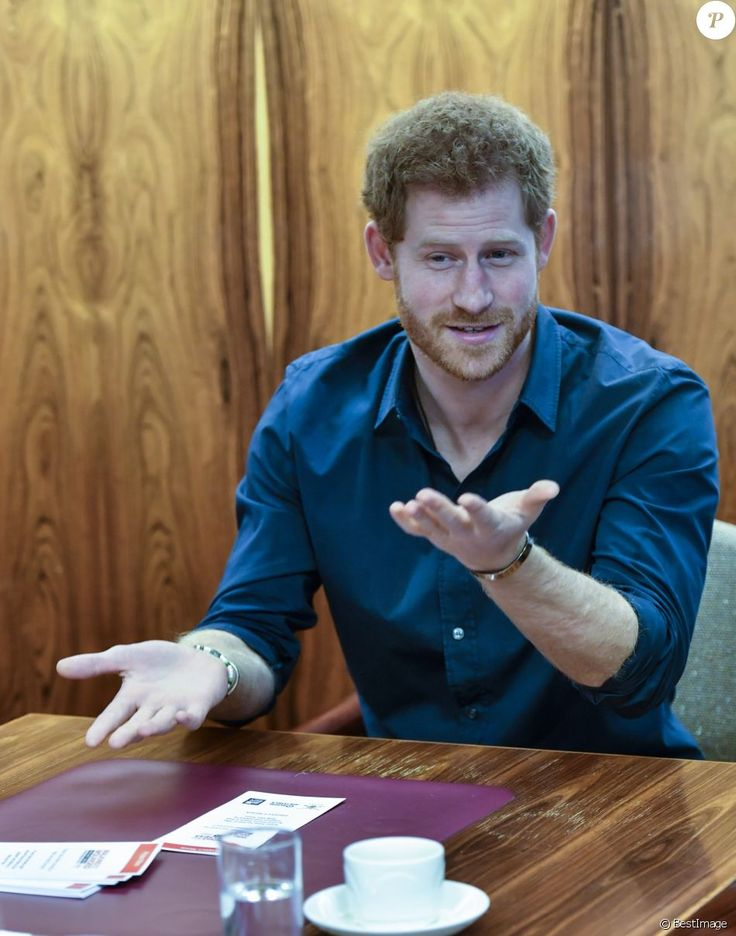 Le prince Harry au centre civique de Gateshead pour un colloque du projet Walking With the Wounded le 21 février 2017.
