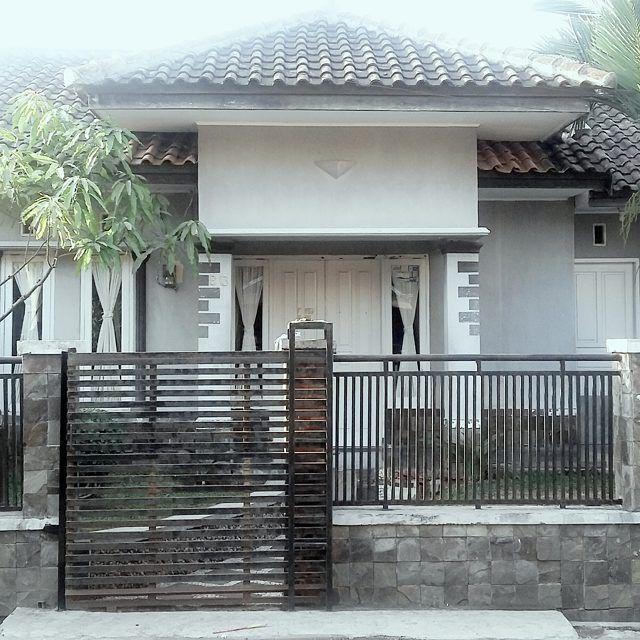 cat pagar rumah minimalis
