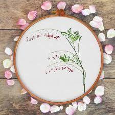 Resultado de imagen de kids cross stitch pattern flower