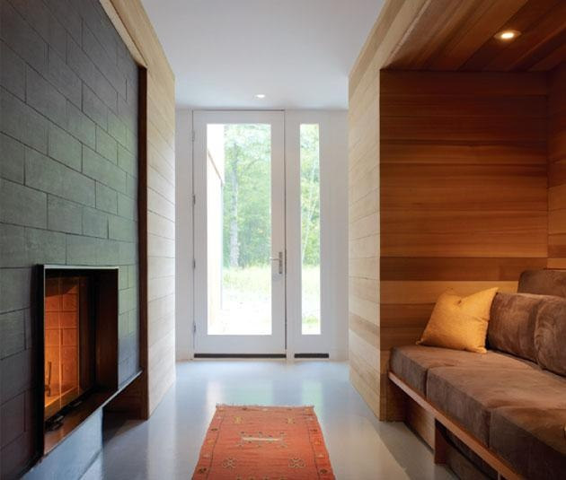 The Coffou Cottage Brininstool + Lynch  Red Cedar Wood Examples, Residential Buildings