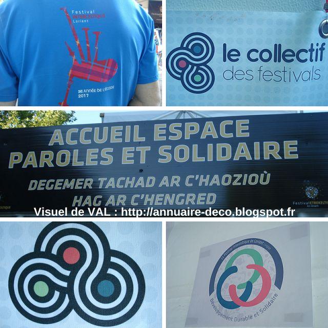 Bruno TASCON (Ecrivain Plasticien) - Ateliers Créatifs - Lorient Vannes Paris: ⏬ FESTIVAL INTERCELTIQUE DE LORIENT