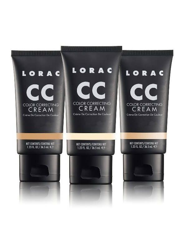 LORAC CC Cream - Color Correcting Cream Foundation Makeup from LORAC