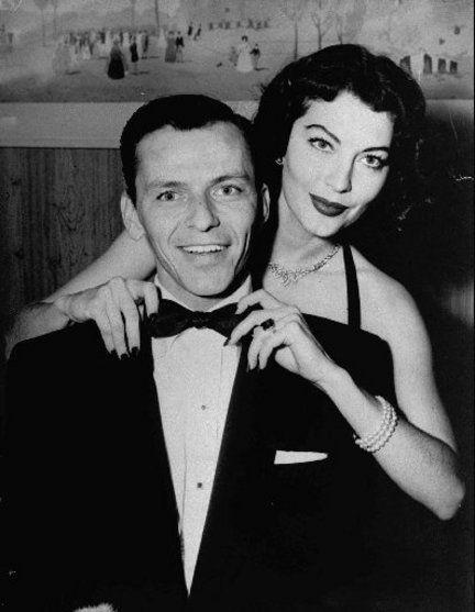 Frank Sinatra and Ava Gardiner